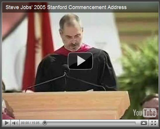 steve jobs 2005 commencement speech